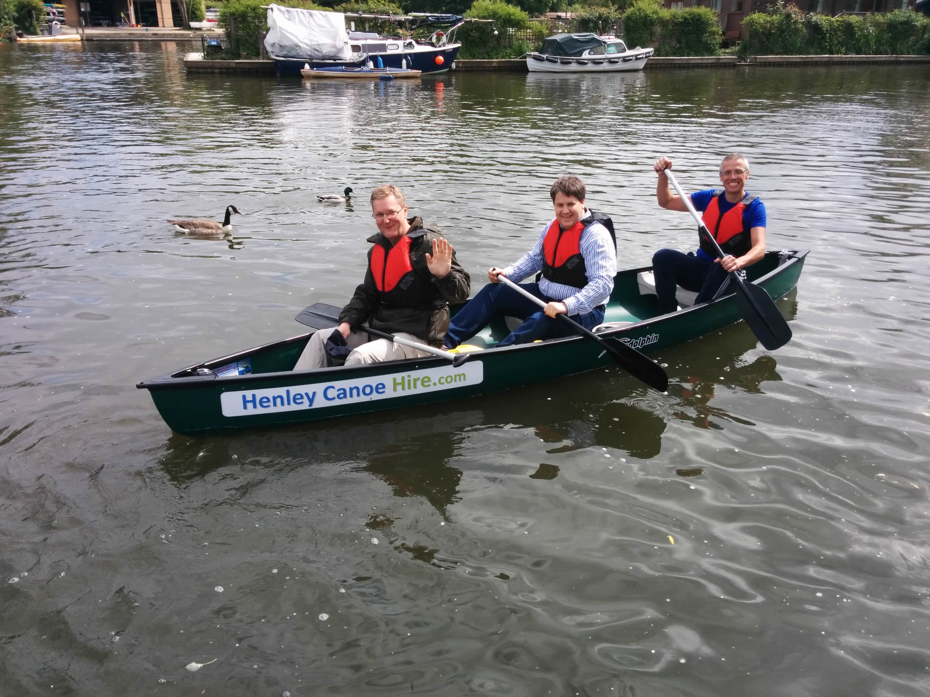 1 Hour Hire Henley Canoe Hire